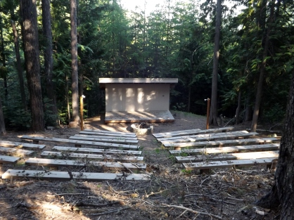 Outdoor Amphitheater at the Chewelah Peak Learning Center