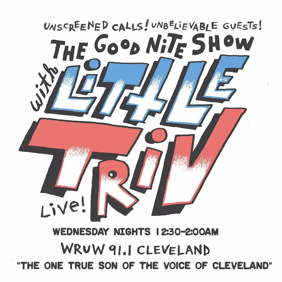 LAPSERITIS' ON THE GOOD NITE SHOW W/ LITTLE TRIV 7/6/16
