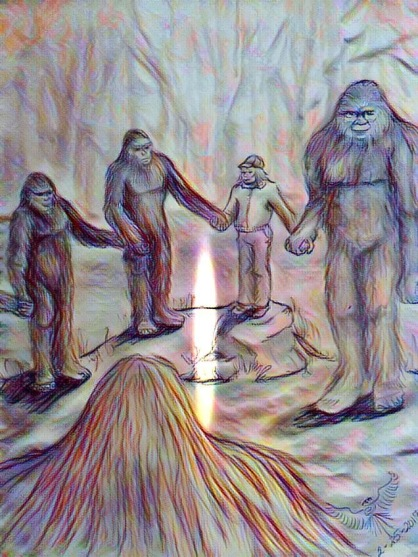 He foretells sasquatches and aliens' appointment with Lapseritis